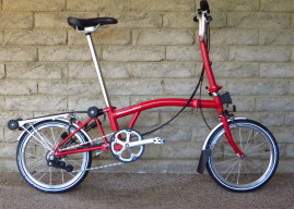 Brompton+M6R+-12%25+gearing+All+Red