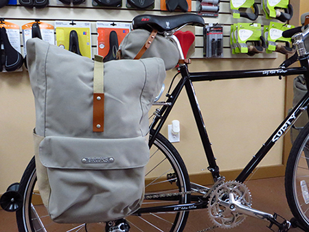 These rear panniers are perhaps the most elegant and stylish touring bags  we ve ever seen. Aside from being gorgeous b47049575