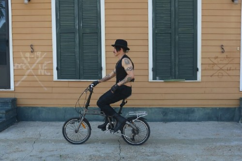 Cool Interesting And Awesome Celebrity Folding Bike Riders