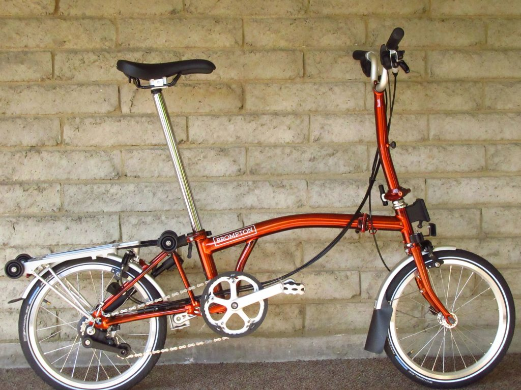 Sold Brompton 2019 M6r 12 Gearing All Flame Lacquer